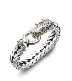 John Hardy Dragon Chain Silver Bracelet