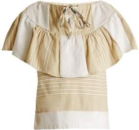 Ace&Jig Clifton striped cotton-blend top