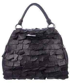 Miu Miu Ruffled Leather Handle Bag