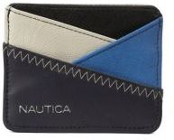 Nautica Sail Patch Criss Cross Card Case