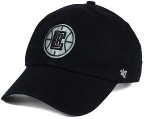 '47 Los Angeles Clippers Black Gray Clean Up Cap