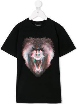 Marcelo Burlon County of Milan Kids monkey-print T-shirt