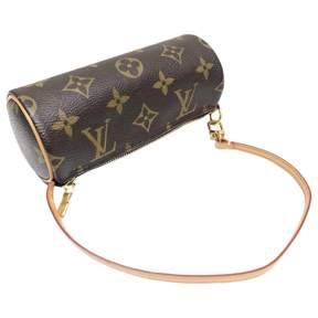 Louis Vuitton Papillon cloth clutch bag