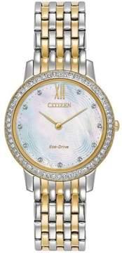 Citizen EX148457D / EX1484-57D EX148457D Silhouette Womens Eco-Drive Watch