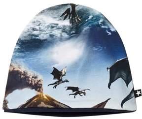 Molo Dragon Island Print Ned Baby Hat