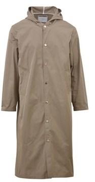 Ih Nom Uh Nit Men's Green Polyester Coat.
