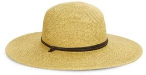San Diego Hat Company Leather Banded Rancher