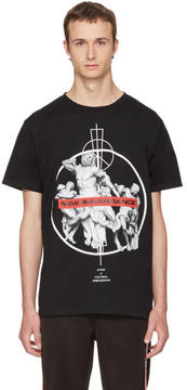Marcelo Burlon County of Milan Black Fainu T-Shirt