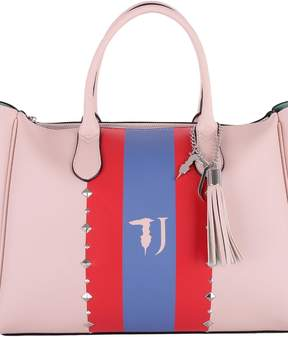 Trussardi Blondie Faux Leather Tote Bag