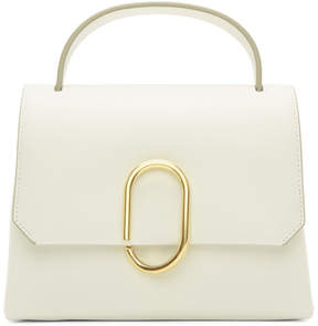 3.1 Phillip Lim White Mini Alix Top Handle Satchel