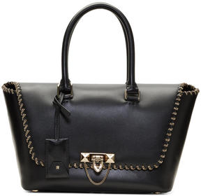 Valentino Black Garavani Small Demilune Bag