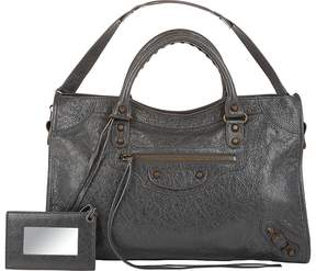 Balenciaga Women's Arena Leather Classic City Bag