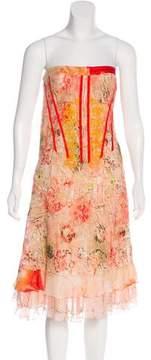 Christian Lacroix Silk Sleeveless Dress