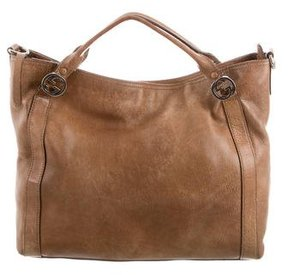 Gucci Miss GG Satchel - BROWN - STYLE