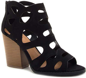 Qupid Black Barnes Sandal - Women
