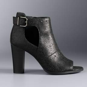 Vera Wang Simply Vera Bologna Women's Ankle Boots