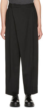 McQ Black Crossover Trousers