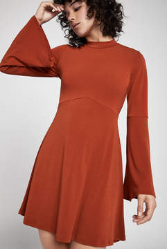 BCBGeneration Mock Turtleneck Dress