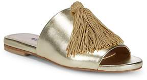 Charles David Women's Sashay Tassel Leather Slides