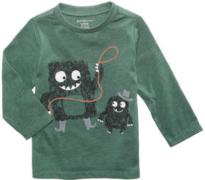 First Impressions Rodeo Monster-Print Cotton T-Shirt, Baby Boys (0-24 months), Created for Macy's