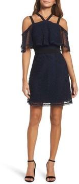 Chelsea28 Women's Lace Halter Dress