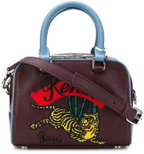 Kenzo embroidered bowling bag