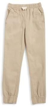 Lucky Brand Boy's Twill Jogger Pants