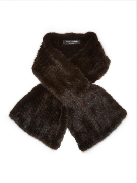 Yves Salomon Women's Mink Fur Clip Scarf