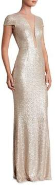 Dress the Population Michelle Sequined Bodycon Gown