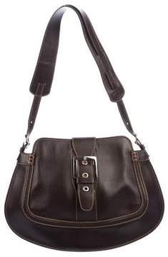 Tod's Leather Buckle Shoulder Bag
