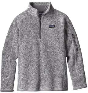 Patagonia Girls' Better Sweater® 1/4-Zip Fleece