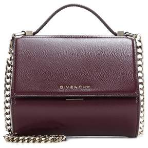 Givenchy Pandora Box Mini patent leather shoulder bag