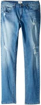 Hudson Jude OG Skinny Five-Pocket Jeans in Stone Wash Boy's Jeans