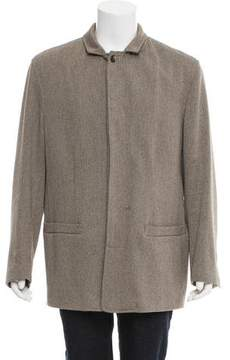 Luciano Barbera Wool & Cashmere-Blend Jacket