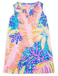 Lilly Pulitzer Toddler's, Little Girl's & Girl's Mini Essie Cotton Dress
