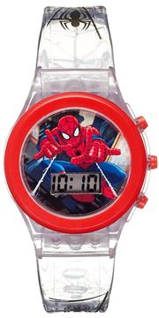 Marvel Ultimate Spider-Man Kids' Digital Light-Up Watch