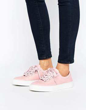 K-Swiss Premium Leather Court Classico Sneakers In Pink