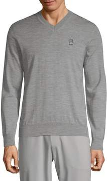 Psycho Bunny Men's Merino Wool Sweater