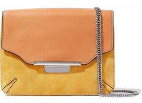 Rag & Bone Leather And Suede Clutch