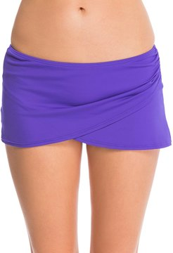 Anne Cole Color Blast Solids Sarong Swim Skirt 38854
