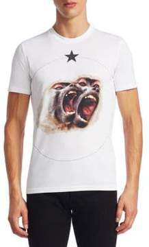 Givenchy Monkey Brothers Cotton Tee