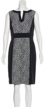 Tahari Printed Knee-Length Dress