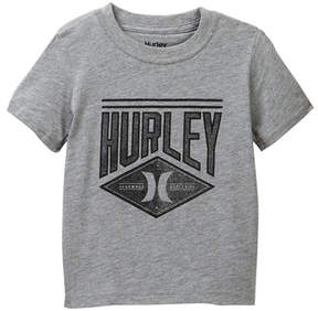 Hurley Stitched Short Sleeve Tee (Toddler & Little Boys)