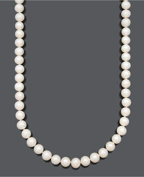 Belle de Mer Cultured Freshwater Pearl Strand Necklace (9-1/2-10-1/2mm) in 14k Gold
