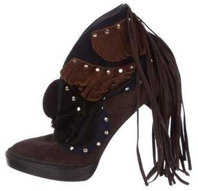 Burberry Lilybell Fringed Booties