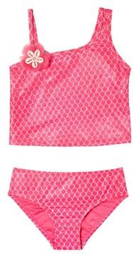 Hula Star Toddler Girl's Mermaid Princess Two-Piece Tankini Swimsuit