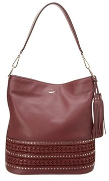 Kate Spade Basset Lane Cobie Leather Shoulder Bag. - RED - STYLE