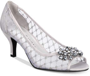 Karen Scott Maralyn Peep-Toe Evening Pumps, Created for Macy's Women's Shoes