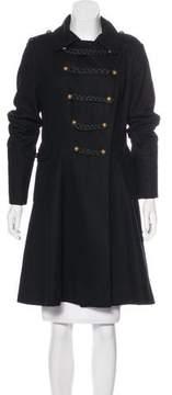 Tahari Wool Knee-Length Coat