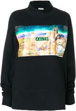 Aalto Airbrush print sweatshirt